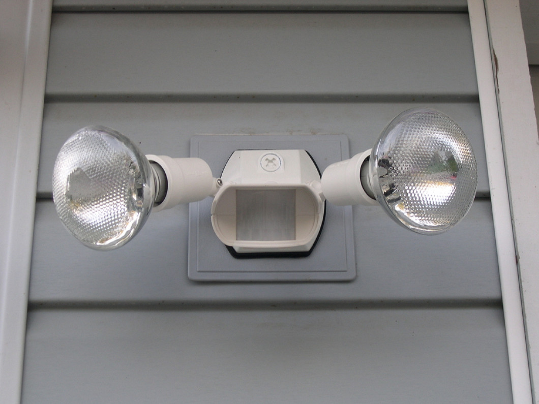 Deter Unwanted Visitors With Security Lighting